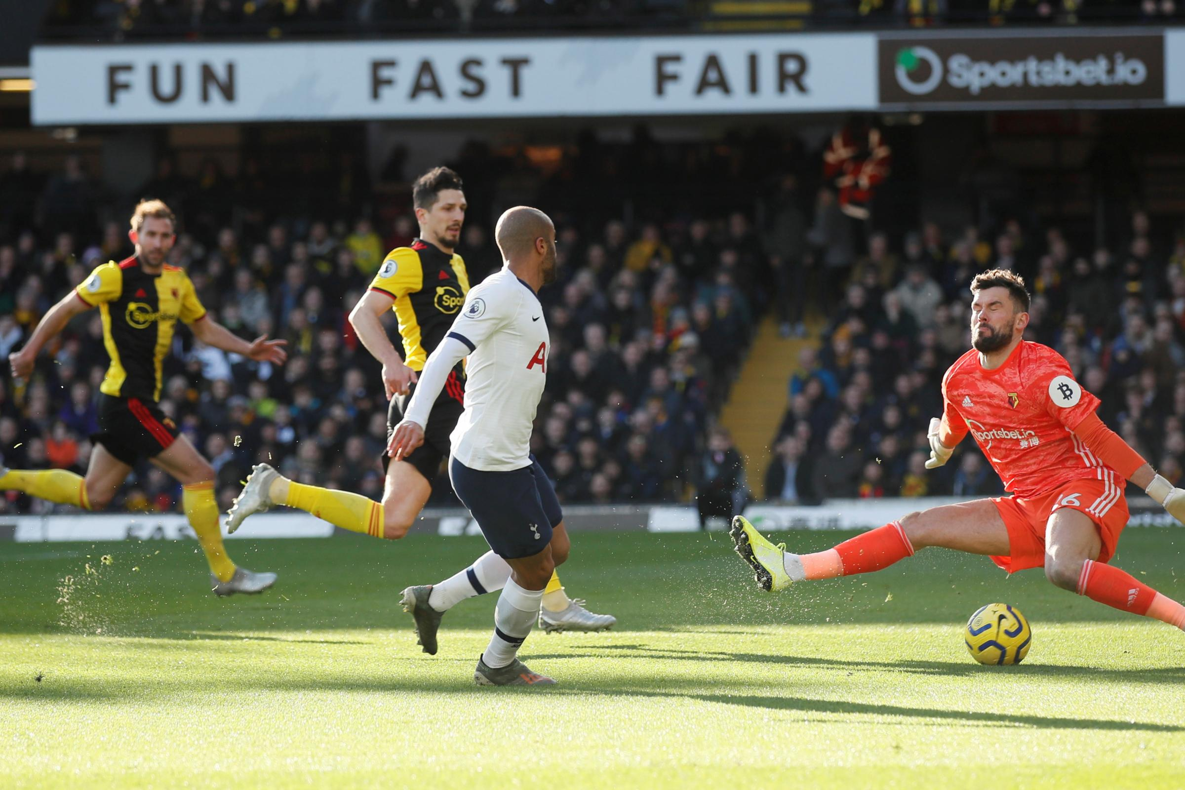 Nigel Pearson praises Watford's collective defensive efforts after Tottenham Hotspur draw