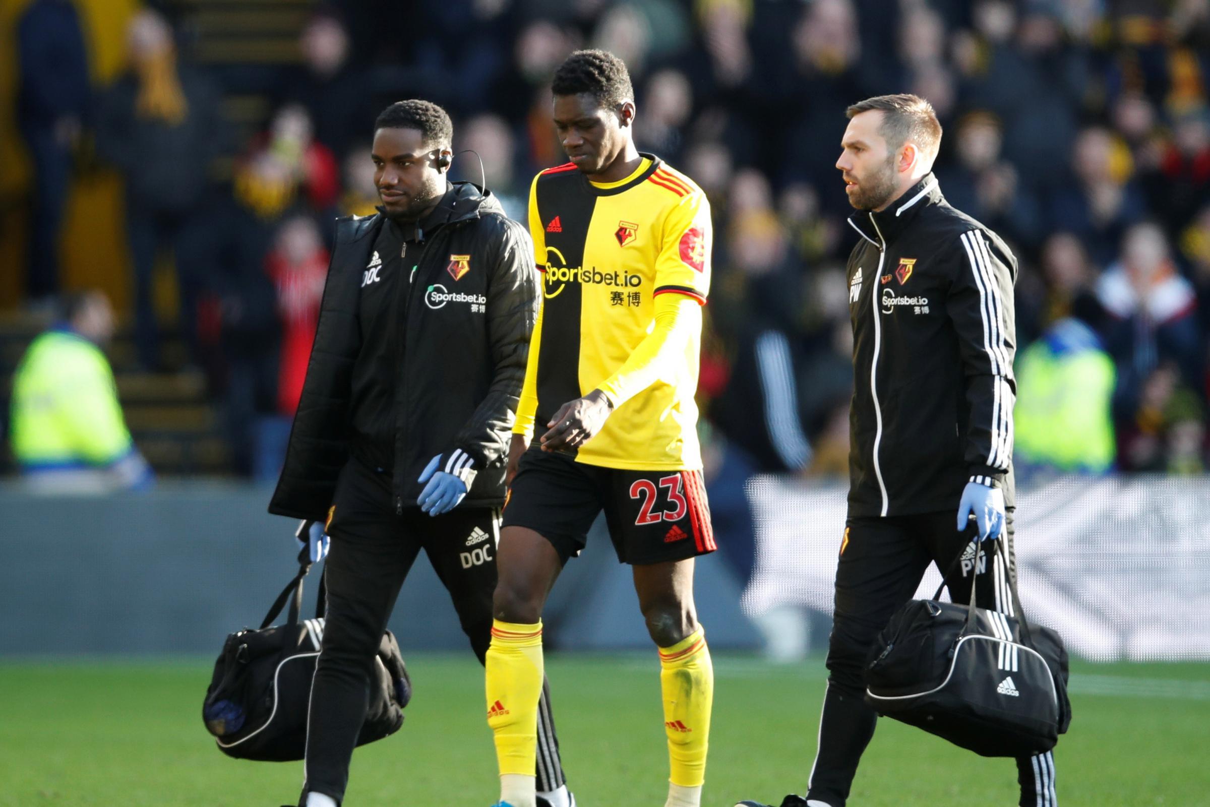 Ismaila Sarr to miss Watford's game against Aston Villa after Tottenham Hotspur injury