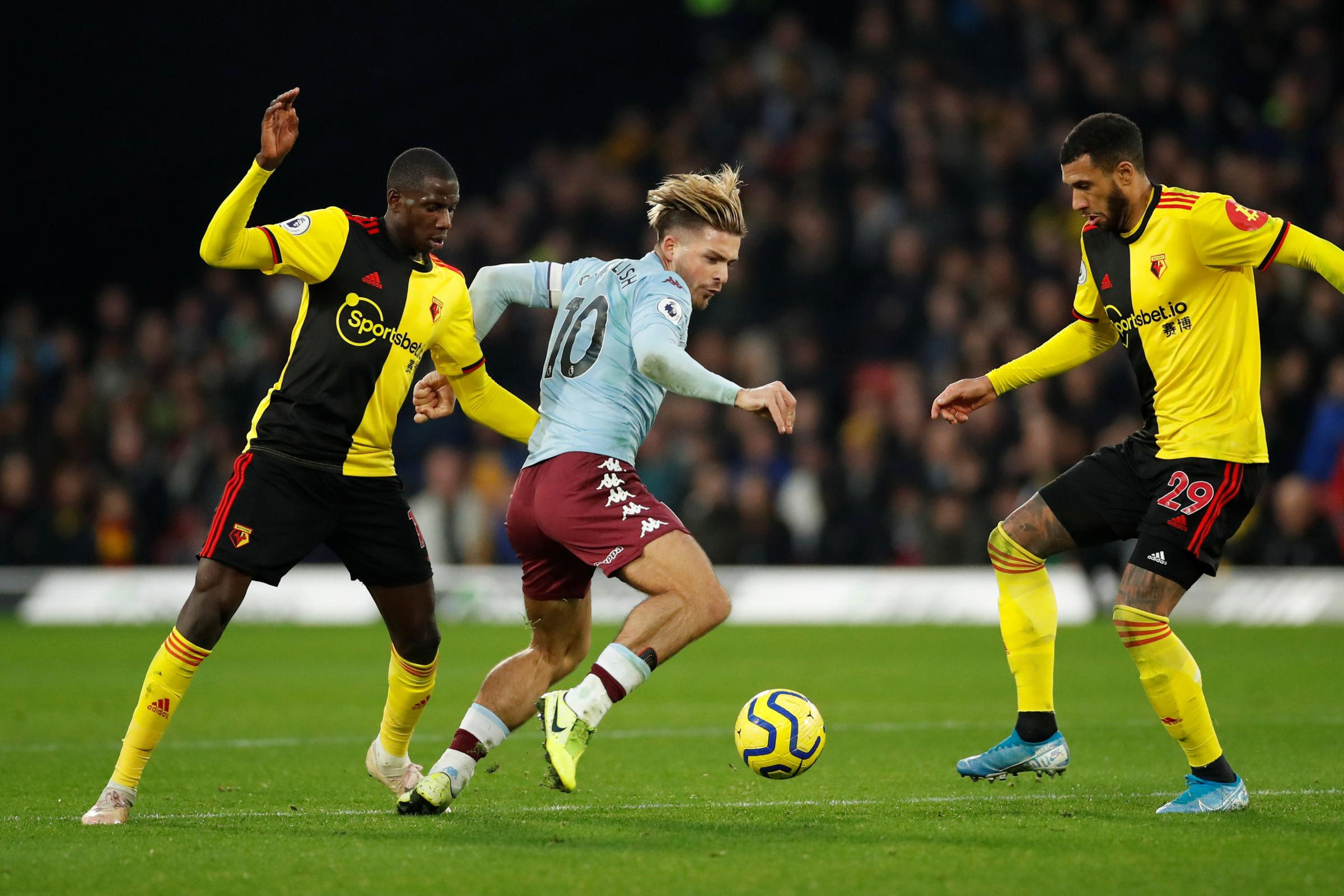 Watford have 'healthy respect' for Aston Villa's Jack Grealish, says Nigel Pearson