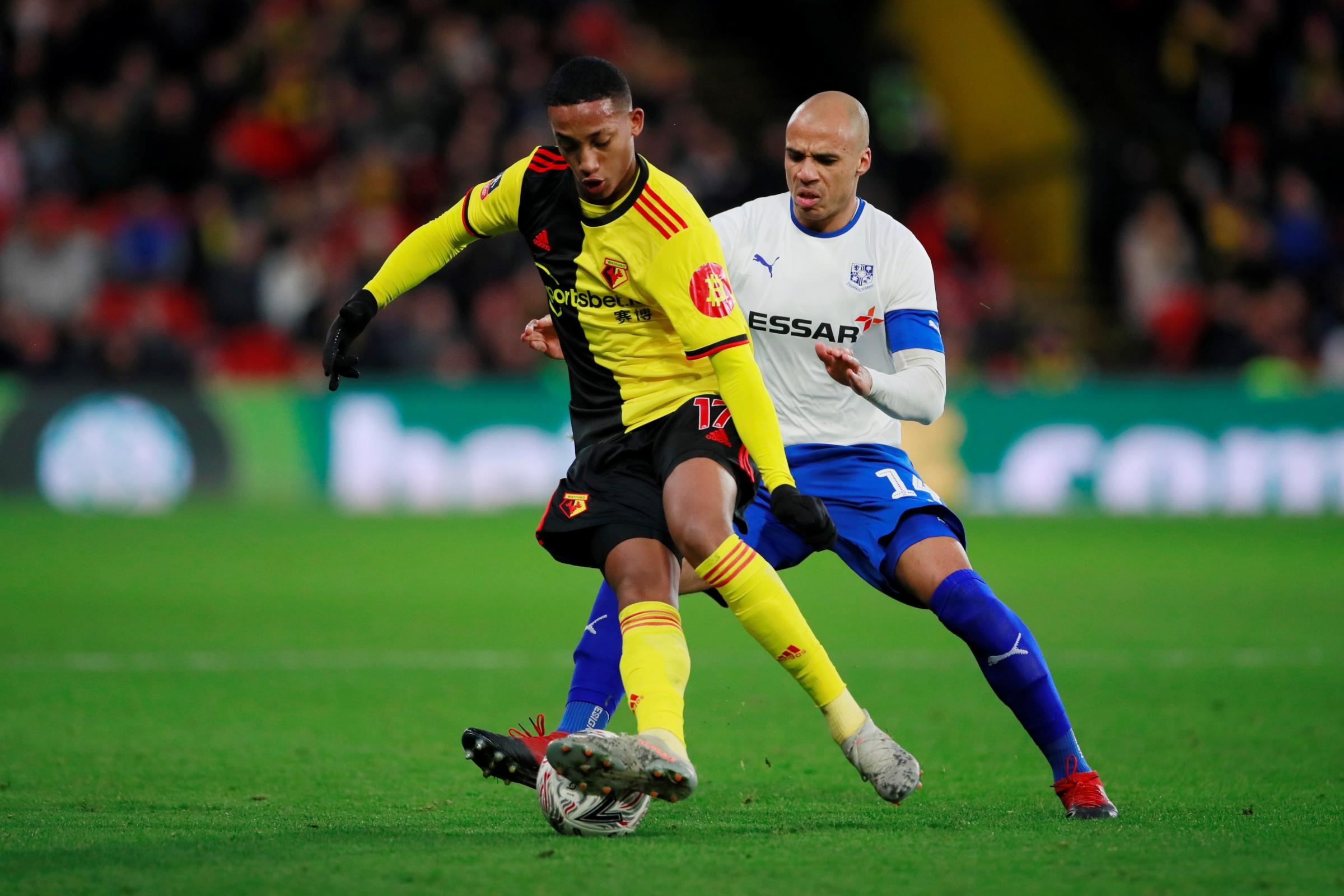 Joao Pedro is prepared for Watford's FA Cup replay with Tranmere Rovers