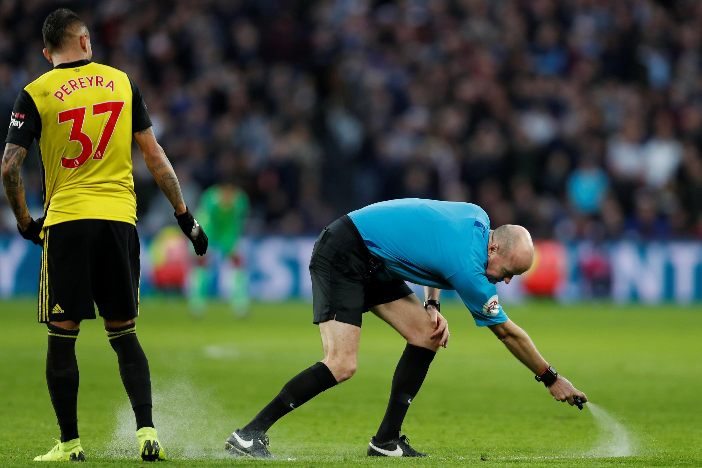 Lee Mason to referee FA Cup fourth round tie with Manchester United if Watford beat Tranmere Rovers