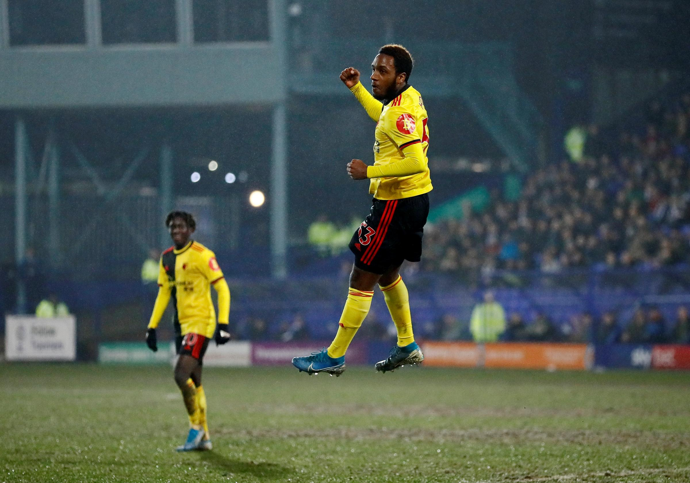 Kaylen Hinds was proud to score on his Watford debut against Tranmere Rovers
