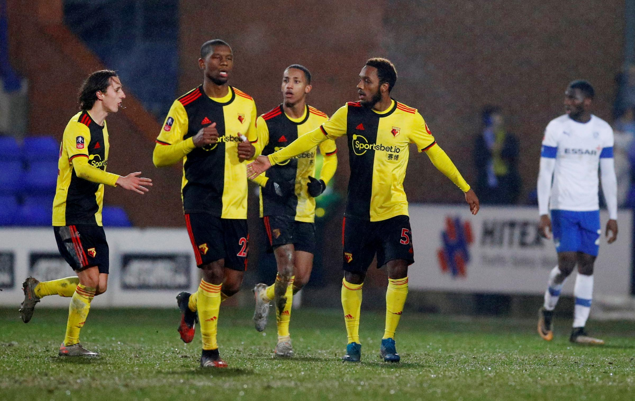 Watford players rated after slipping out of FA Cup at Tranmere Rovers