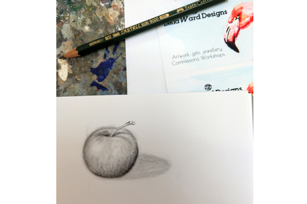 Adult Art Course: Drawing for Beginners Part 1 (3 weeks)