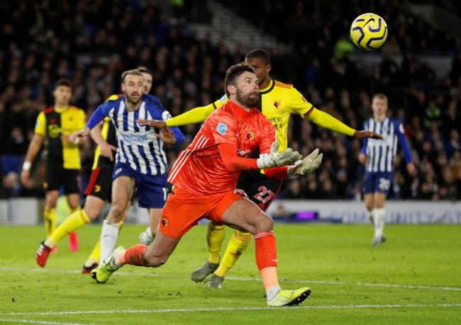 Ben Foster wants Watford's flair players to start producing magic. Picture: Action Images