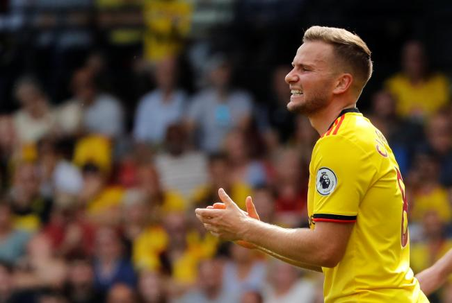 Tom Cleverley is looking forward to a 'new era' at Vicarage Road. Picture: Action Images