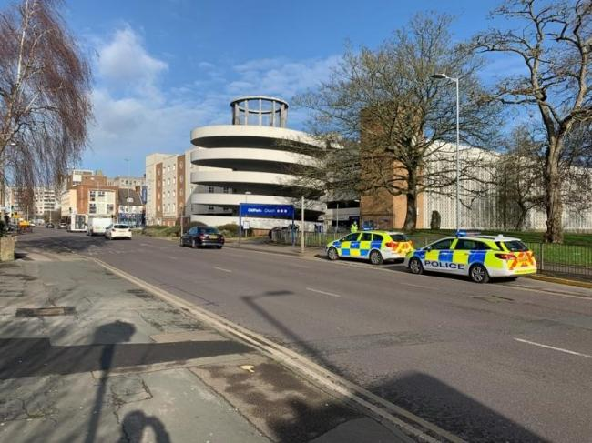 Police were called to a collision at Church car park in Watford today