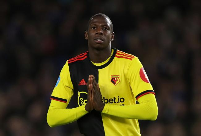 Abdoulaye Doucoure thinks Watford will 'easily' let him leave if an offer comes in. Picture: Action Images