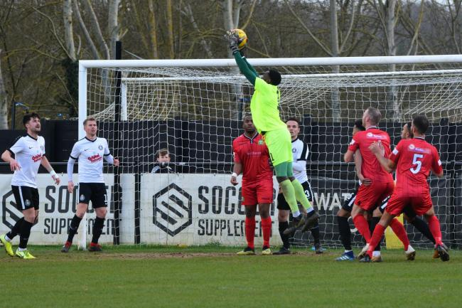 Kings Langley are due to be at home to Banbury United on Saturday. Picture: Chris Riddell
