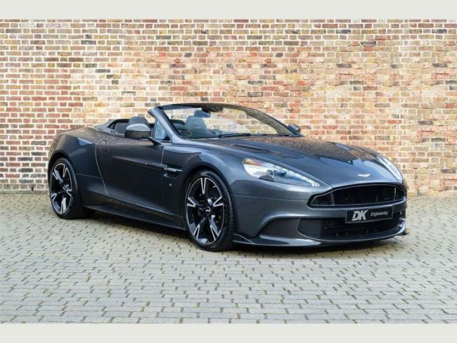 The most expensive car up for sale is an Aston Martin Vanquish (photo DK Engineering)