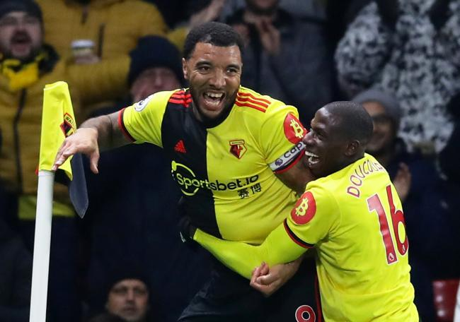 Watford beat champions-elect Liverpool in their last game at Vicarage Road before the league was suspended. Photo: Action Images