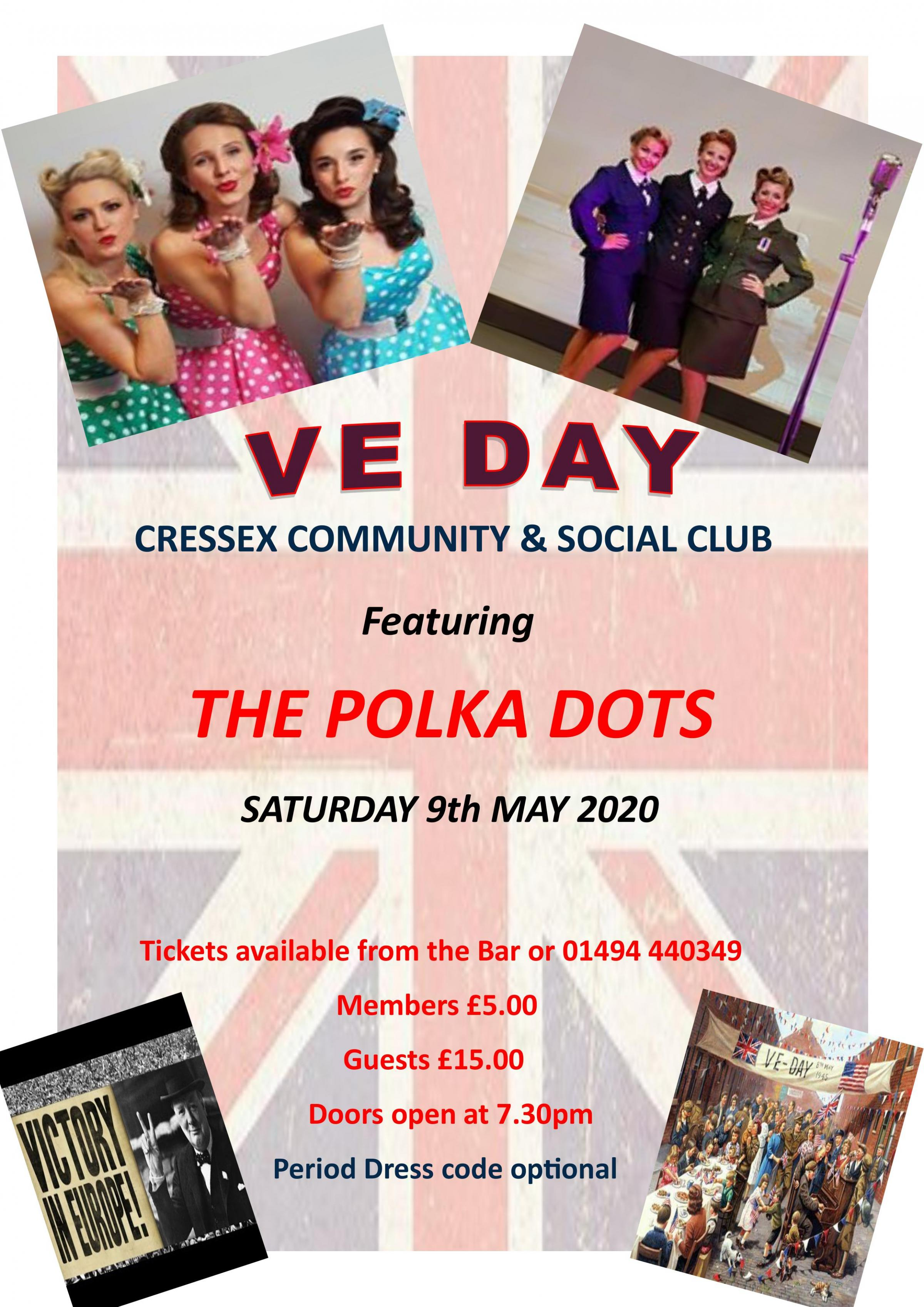 VE Day Celebration Party with The Polka Dots