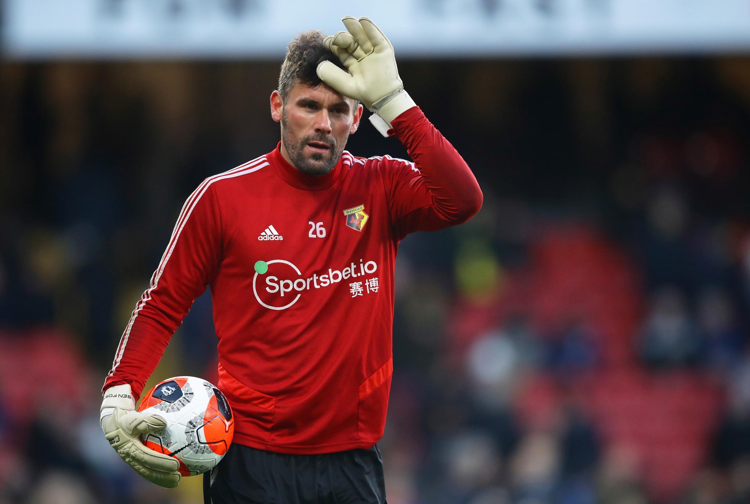 Ben Foster was one of three people at Watford to be tested for coronavirus