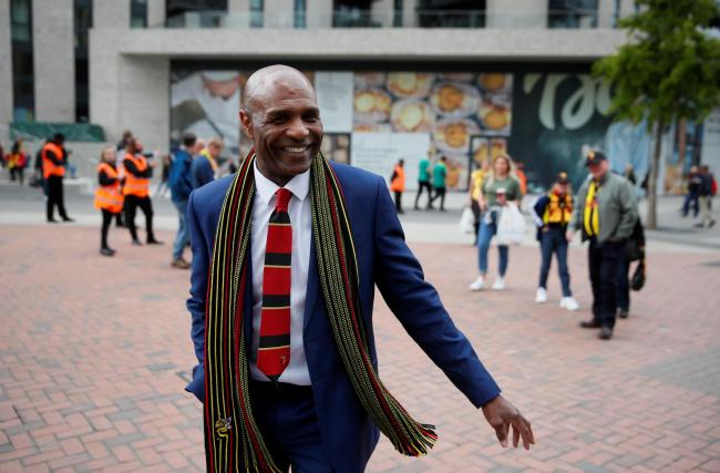 Luther Blissett has helped launch the Watford former players' club. Picture: Action Images