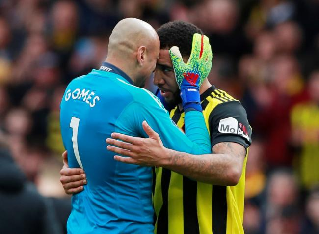 Heurelho Gomes has said Watford need Troy Deeney. Picture: Action Images