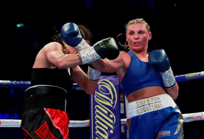 Shannon Courtenay's next fight has been suspended. Picture: Action Images