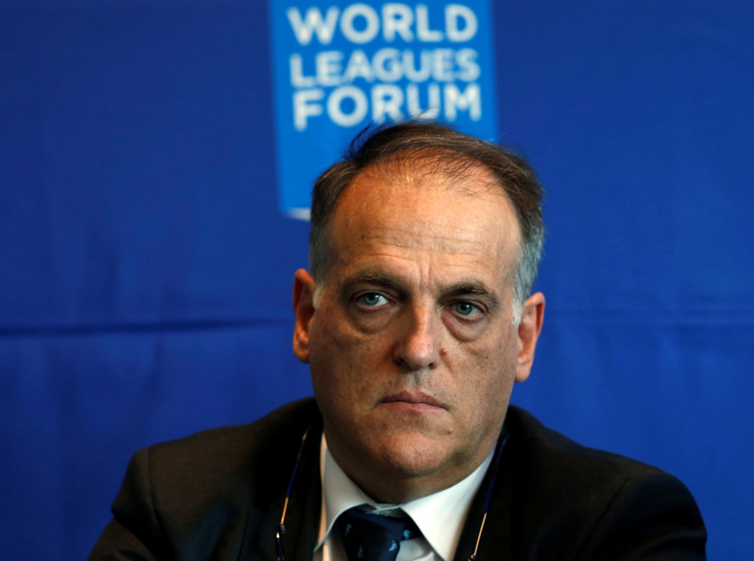 La Liga president Javier Tebas claims European leagues aiming for mid-May start
