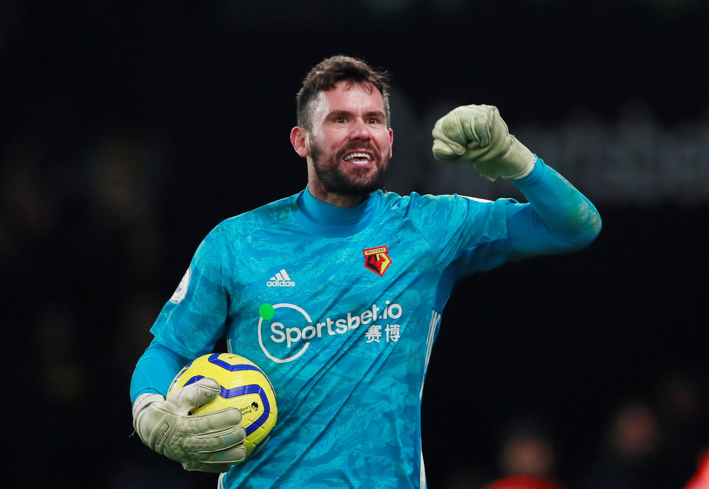 Watford goalkeeper Ben Foster thinks mentality is key to his impressive form