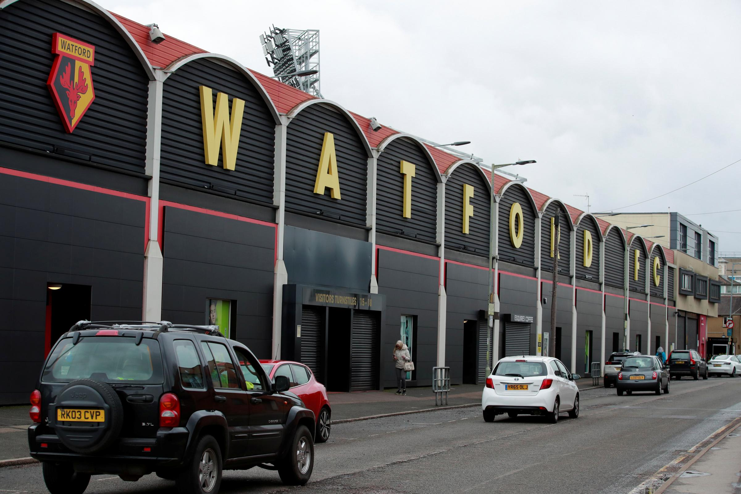Coronavirus: Watford has offered use of Vicarage Road to the NHS