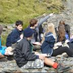 Students take a breather on their recent Geography field trip to the Lake District.