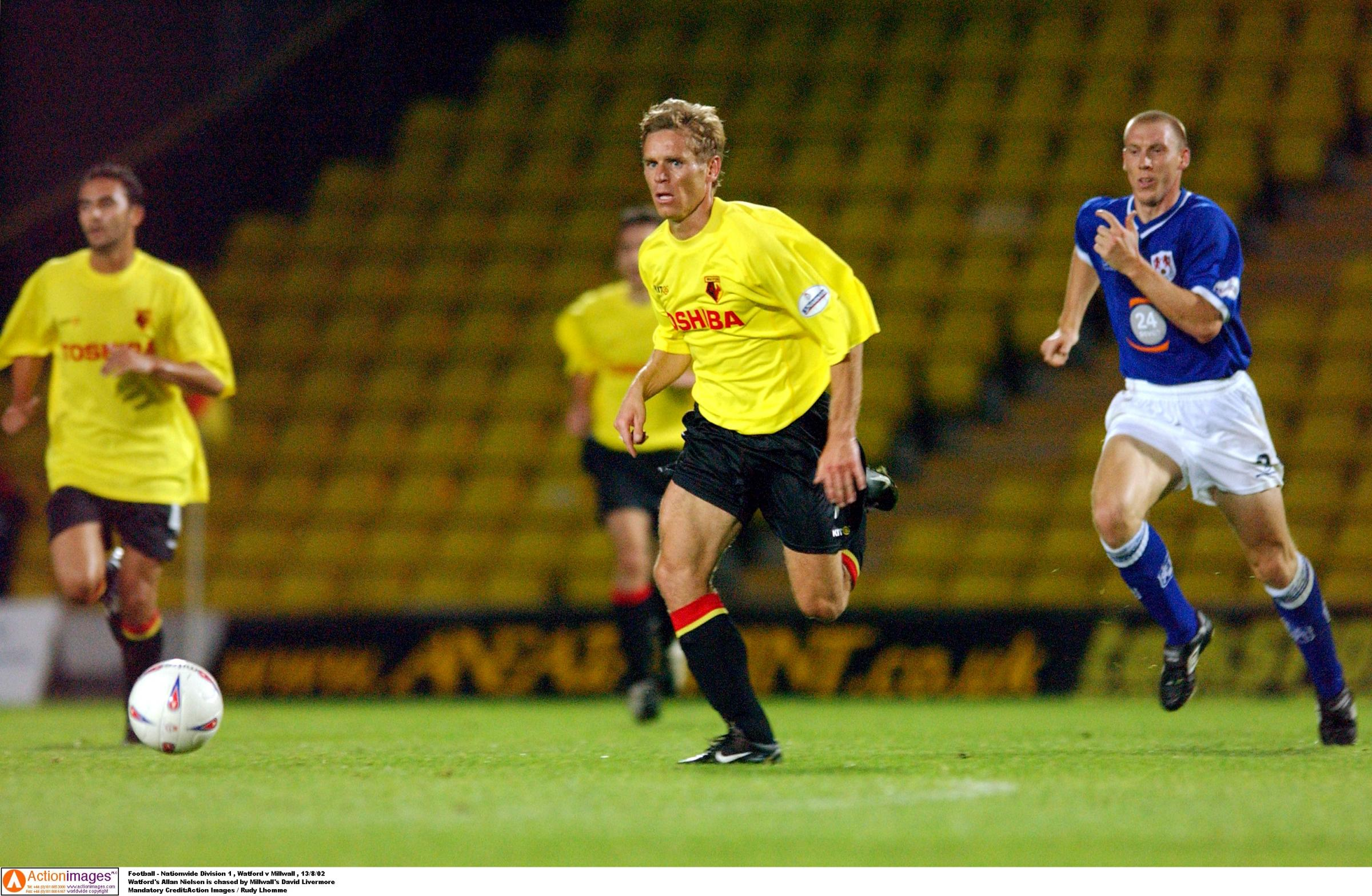 Allan Nielsen was sold on move to Watford by Graham Taylor