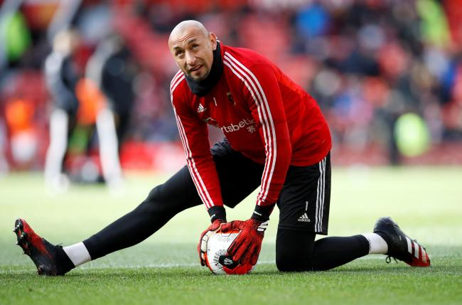Heurelho Gomes has left Watford after six years. Picture: Action Images