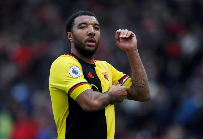 Troy Deeney is expected at London Colney tomorrow. Photo: Action Images