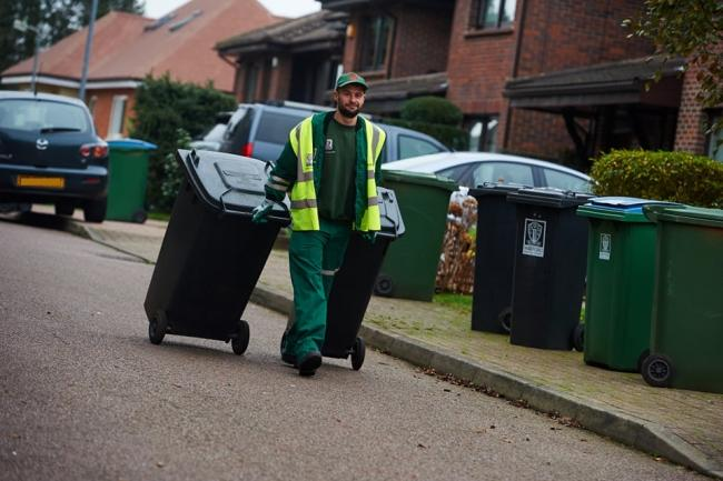 Green waste collection will be suspended (photo Watford Council)