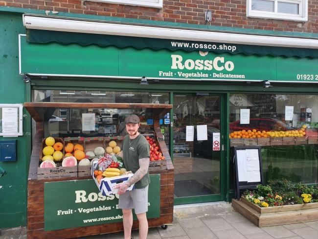 Ross Hampton owner of RossCo. Credit: Ross Hampton