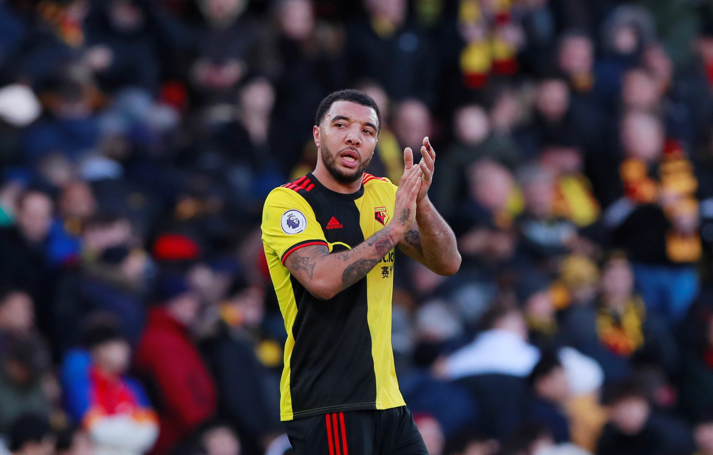 Watford captain Troy Deeney received abuse online due to his coronavirus concerns