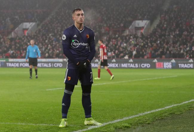 Gerard Deulofeu is no longer on crutches. Picture: Action Images