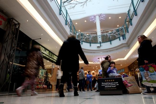 Shoppers in Watford. Photo: Holly Cant