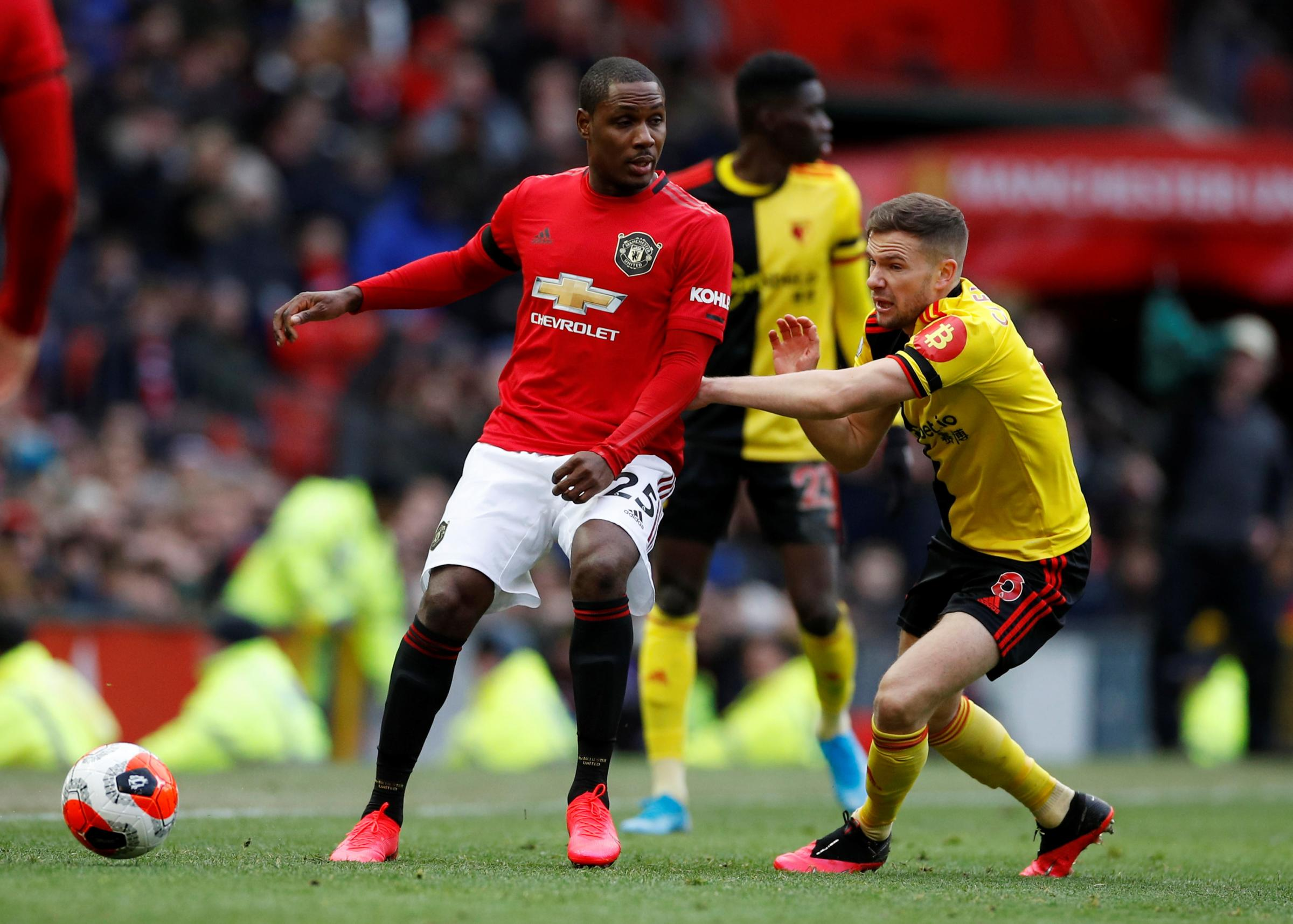 Former Watford striker Odion Ighalo staying at Manchester United