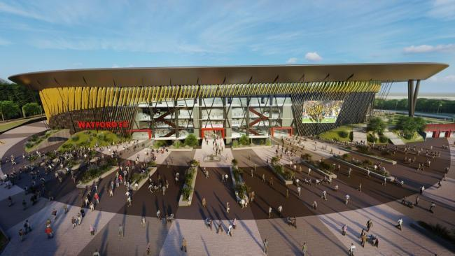 Watford FC have looked into potentially building a new stadium on the course. Photo: Watford FC