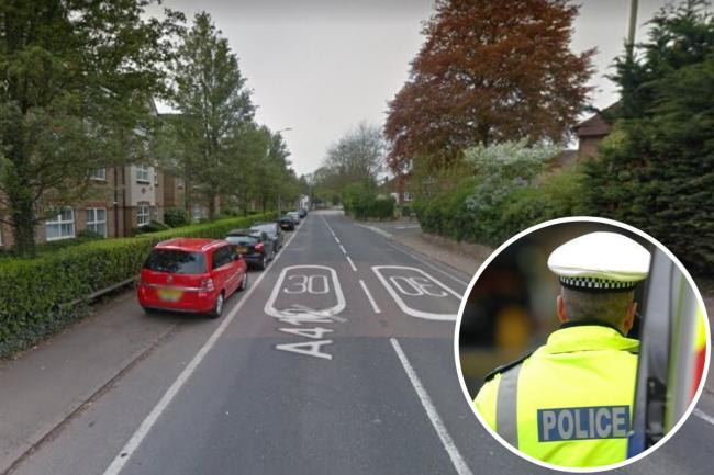 Police were called to Uxbridge Road, Rickmansworth