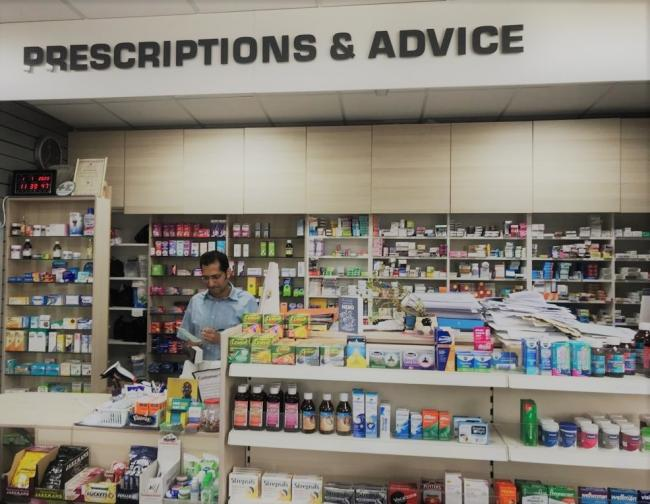 Jay Patel has owned JP Pharmacy for almost nine years