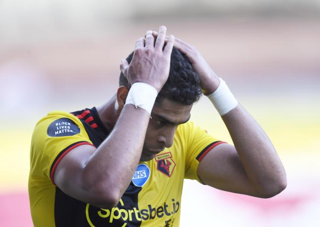 Adam Masina believes Watford have enough quality to avoid relegation. Picture: Action Images
