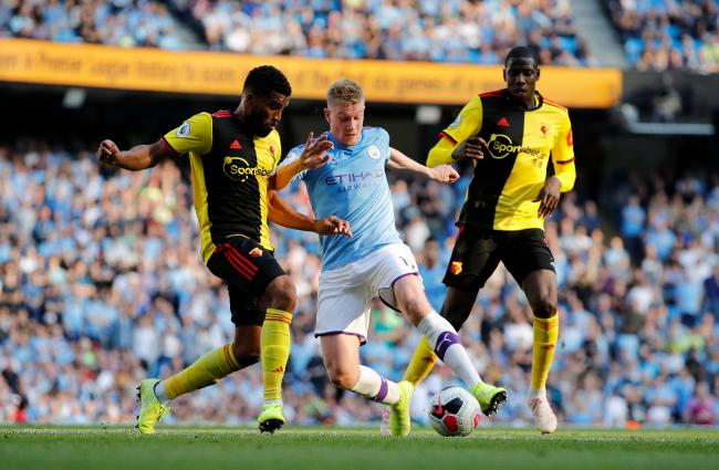 Watford host Manchester City on Tuesday, July 21. Picture: Action Images