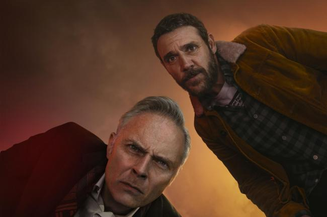 Mark Bonnar and Jamie Sives in Guilt
