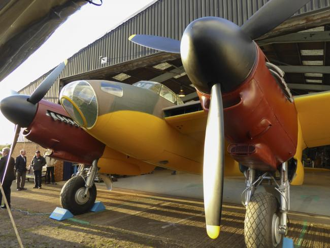 The de Havilland Aircraft Museum in London Colney is reopening