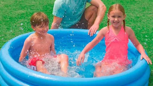 Watford Observer: Lower your body temp with this inflatable pool. Credit: Intex