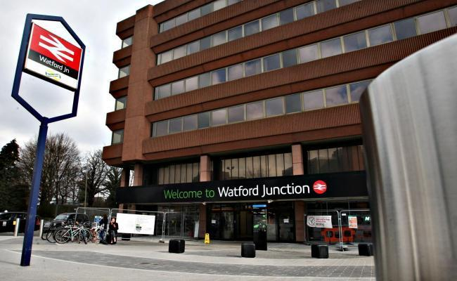 There are delays at Watford Junction Station