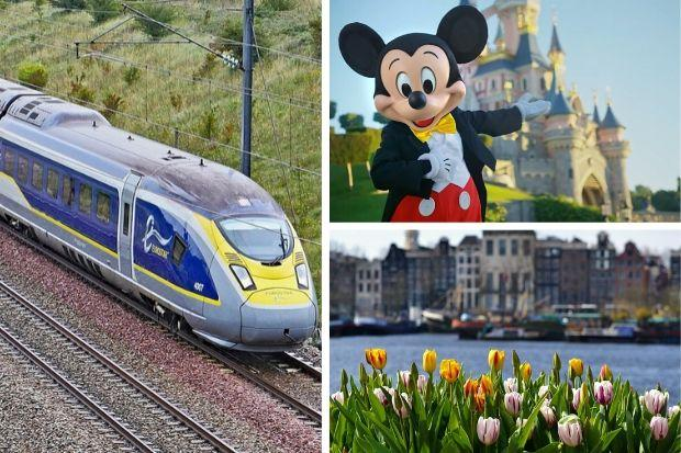 Eurostar has resumed services to Amsterdam and will restart trains to Disneyland Paris within days. Picture: Newsquest