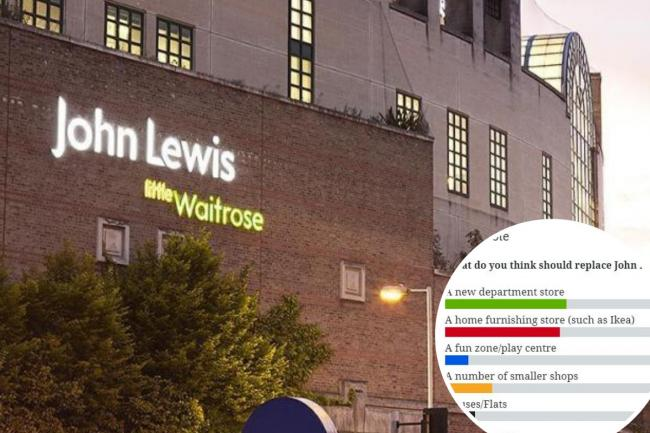 Readers have had their say on what should replace John Lewis