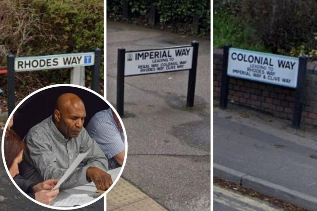Luther Blissett says he 'object' to roads being renamed
