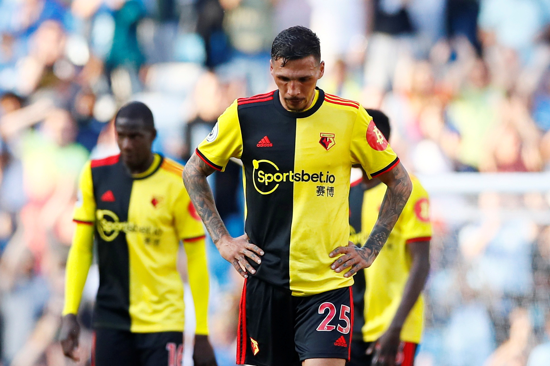 Jose Holebas admits to feeling left out at Watford