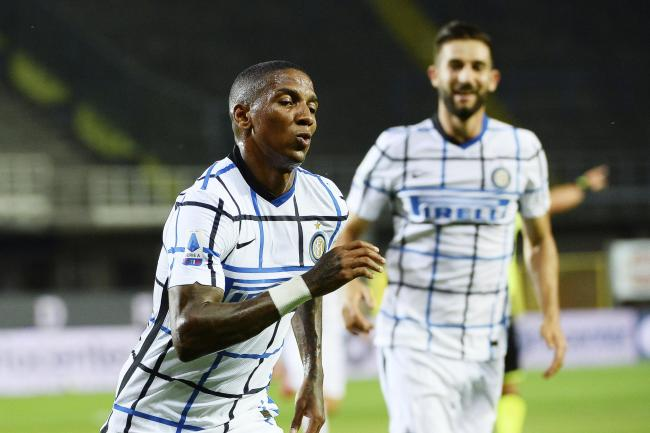 Ashley Young's goal helped Inter Milan finish the Serie A season with a 2-0 win at Atalanta