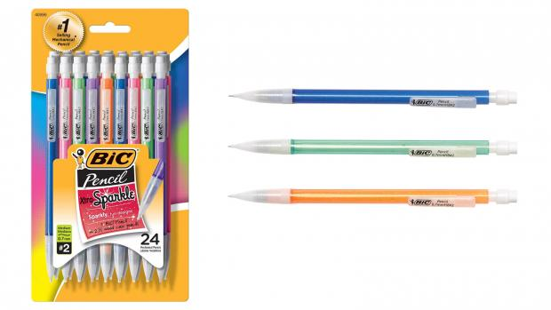 Watford Observer: A fun pencil means a good test, right? Credit: BIC