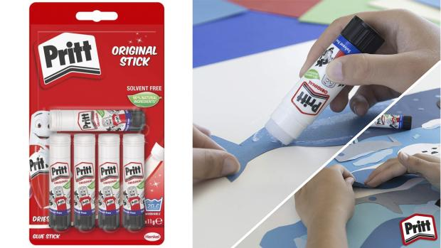 Watford Observer: Don't worry. These glue sticks are washable. Credit: Pritt