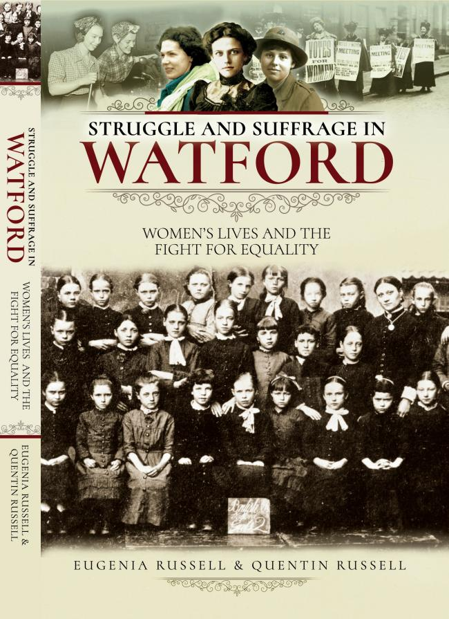 The cover of Struggle and Suffrage in Watford